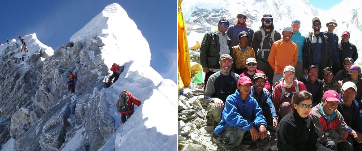 Help for Sherpas during Covid by The Mount Everest Foundation logo